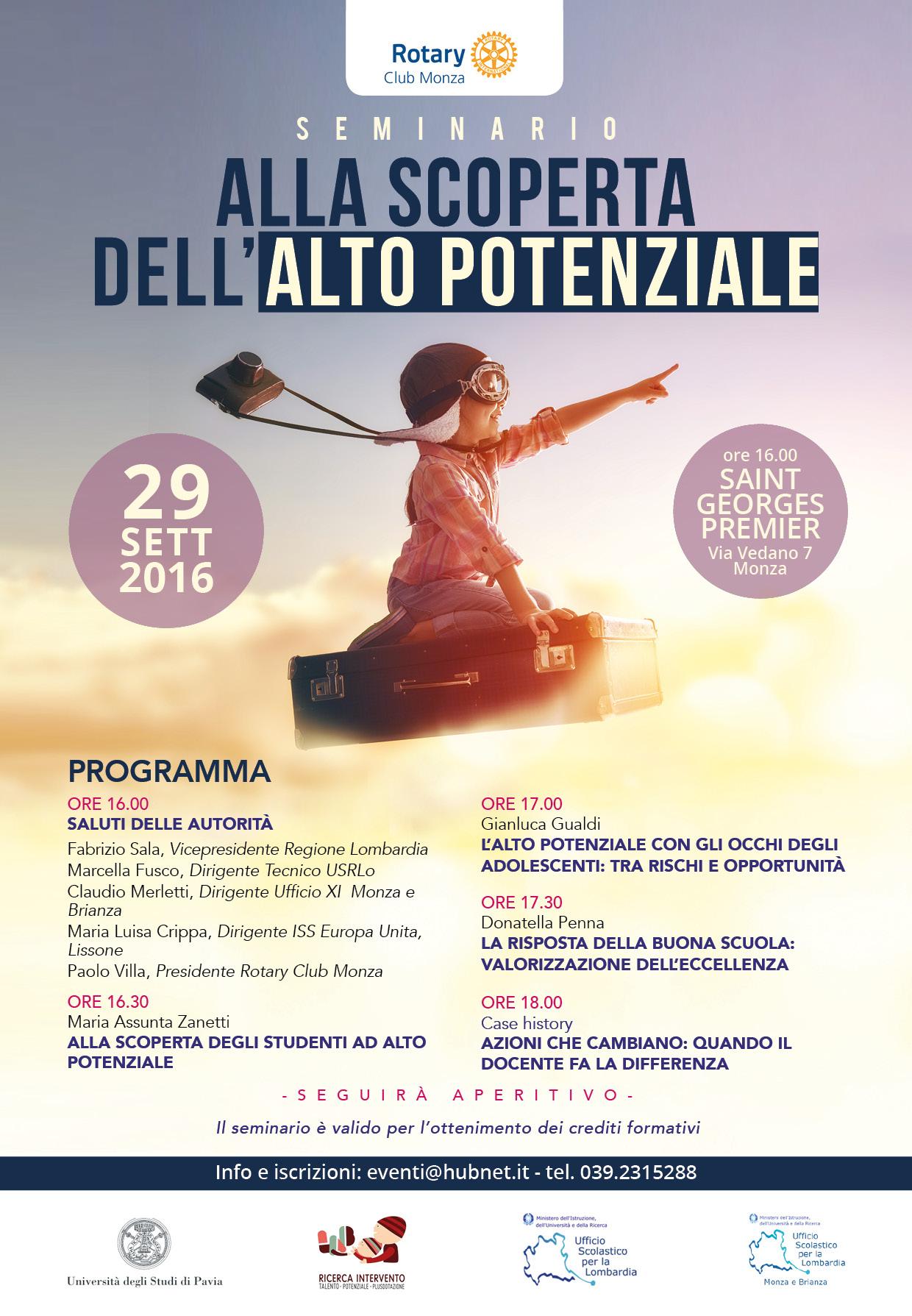 Seminario divulgativo a Monza