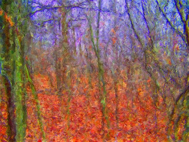 autumn-woods-painting