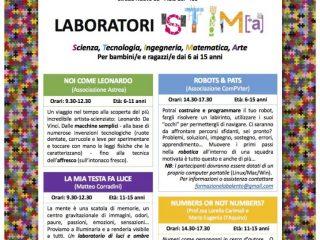 26 novembre: Laboratori per bambini e ragazzi – programma