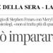 Corriere della Sera/La Lettura – Il talento si può imparare. Proprio così