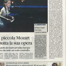 Il Giornale – Alma, ecco la piccola Mozart: a 11 anni debutta la sua opera.