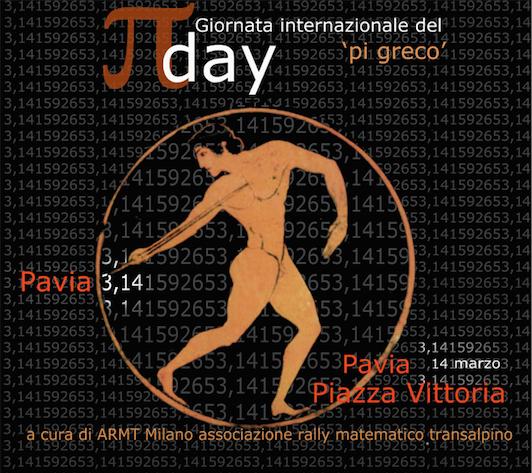 14/3 Pavia: si celebra il Pi-greco Day