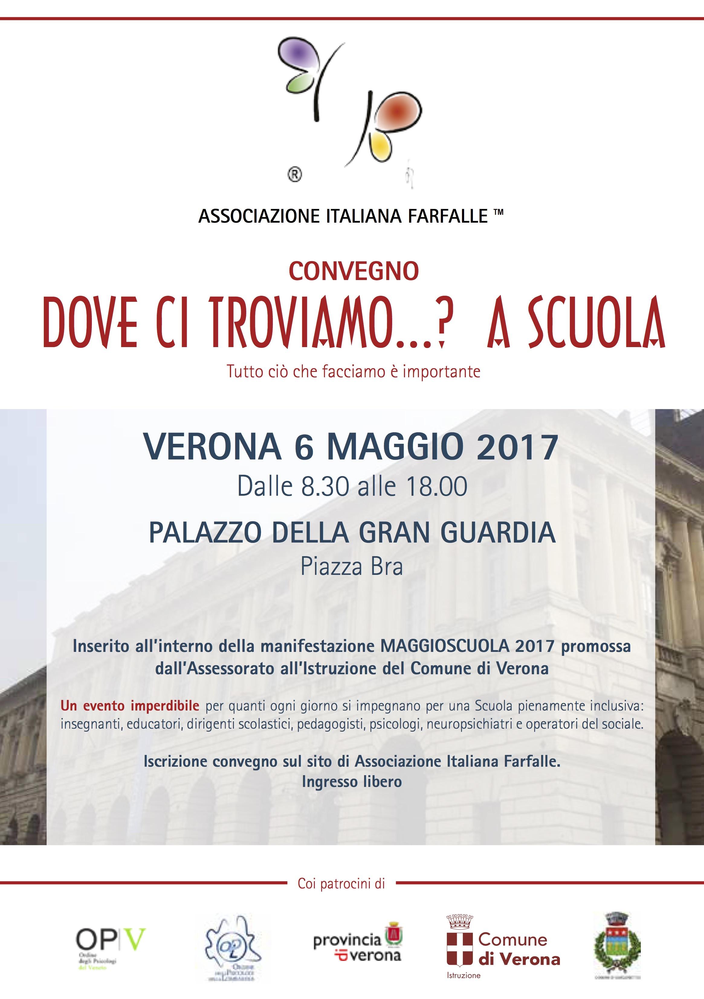 6 Maggio: convegno a Verona