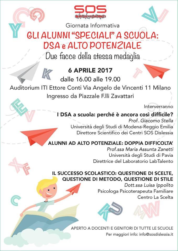 6 Aprile: Giornata informativa a Milano