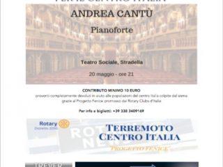 20 maggio: Concerto di beneficenza a Stradella
