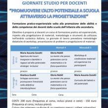 3/4/5 Luglio 2017: GIORNATE DI STUDIO PER DOCENTI