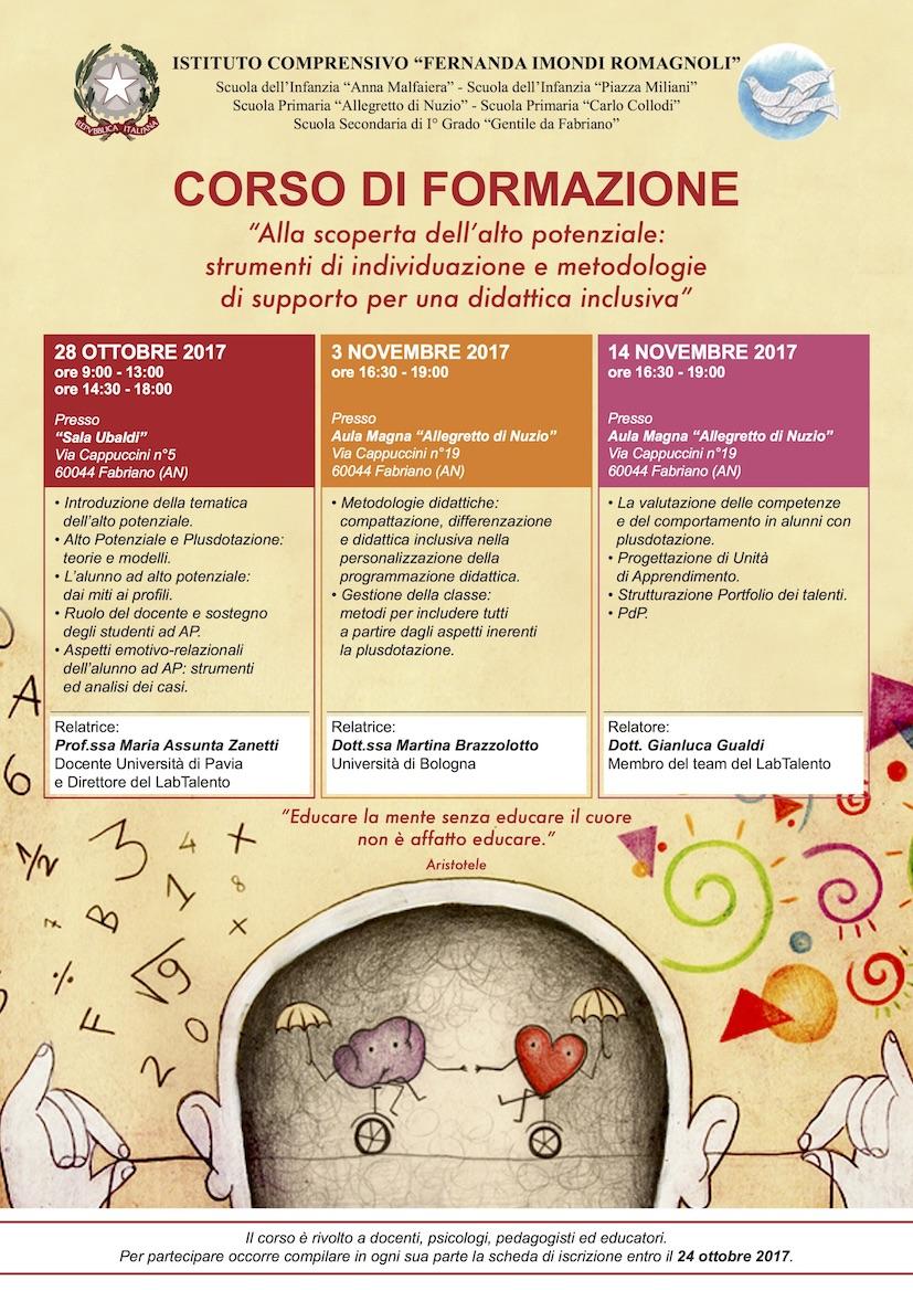 Corso di formazione a Fabriano