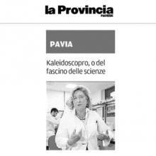 La Provincia Pavese: Kaleidoscopro, o del fascino delle scienze