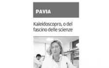 Kaleidoscopro e Soroptimist a Pavia