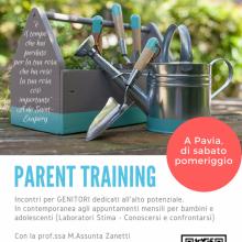 Parent training - locandina
