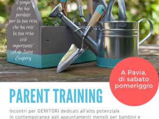 Incontri di Parent Training (dal 20 gennaio)