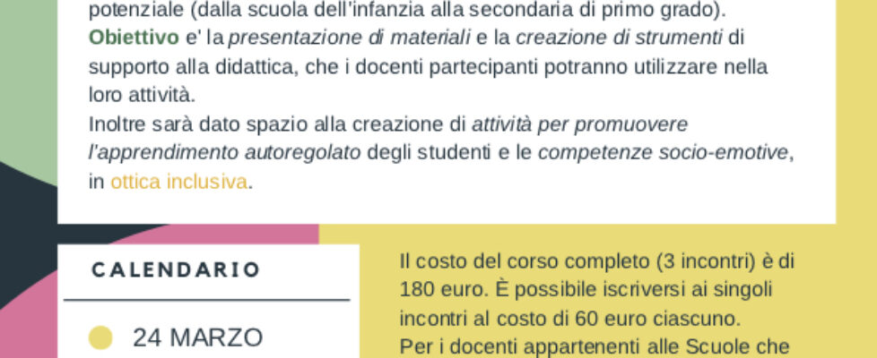 Corso avanzato 2018 - locandina.bis