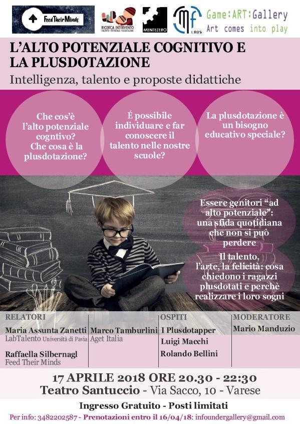 17 Aprile, Varese: convegno e laboratori per bambini e ragazzi