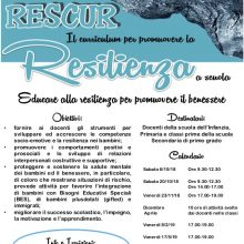 formazione RESCUR resilienza