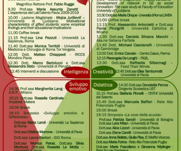 Locandina 2019 congresso - sintetica