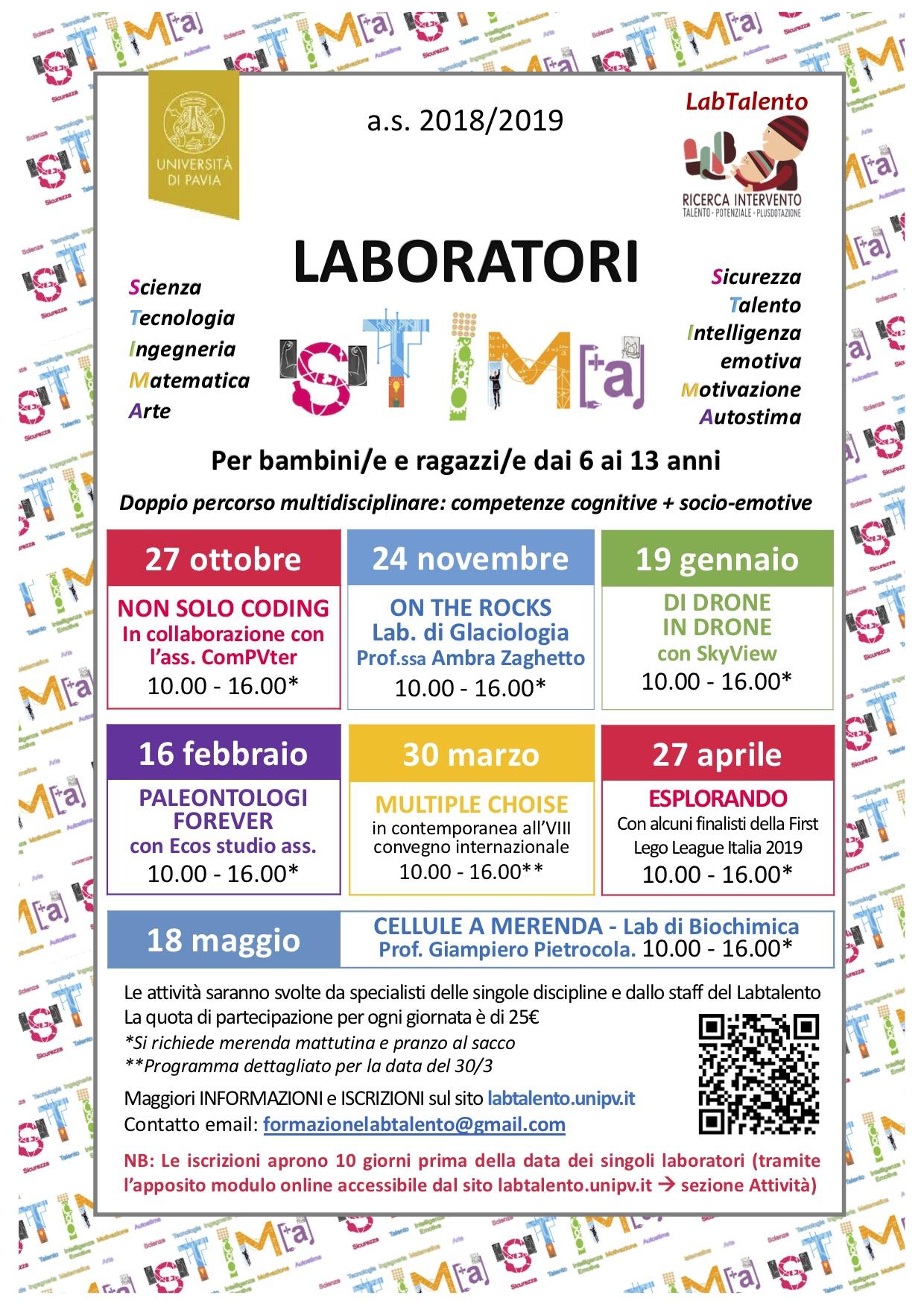 Locandina Laboratori STIMA as2018-2019def
