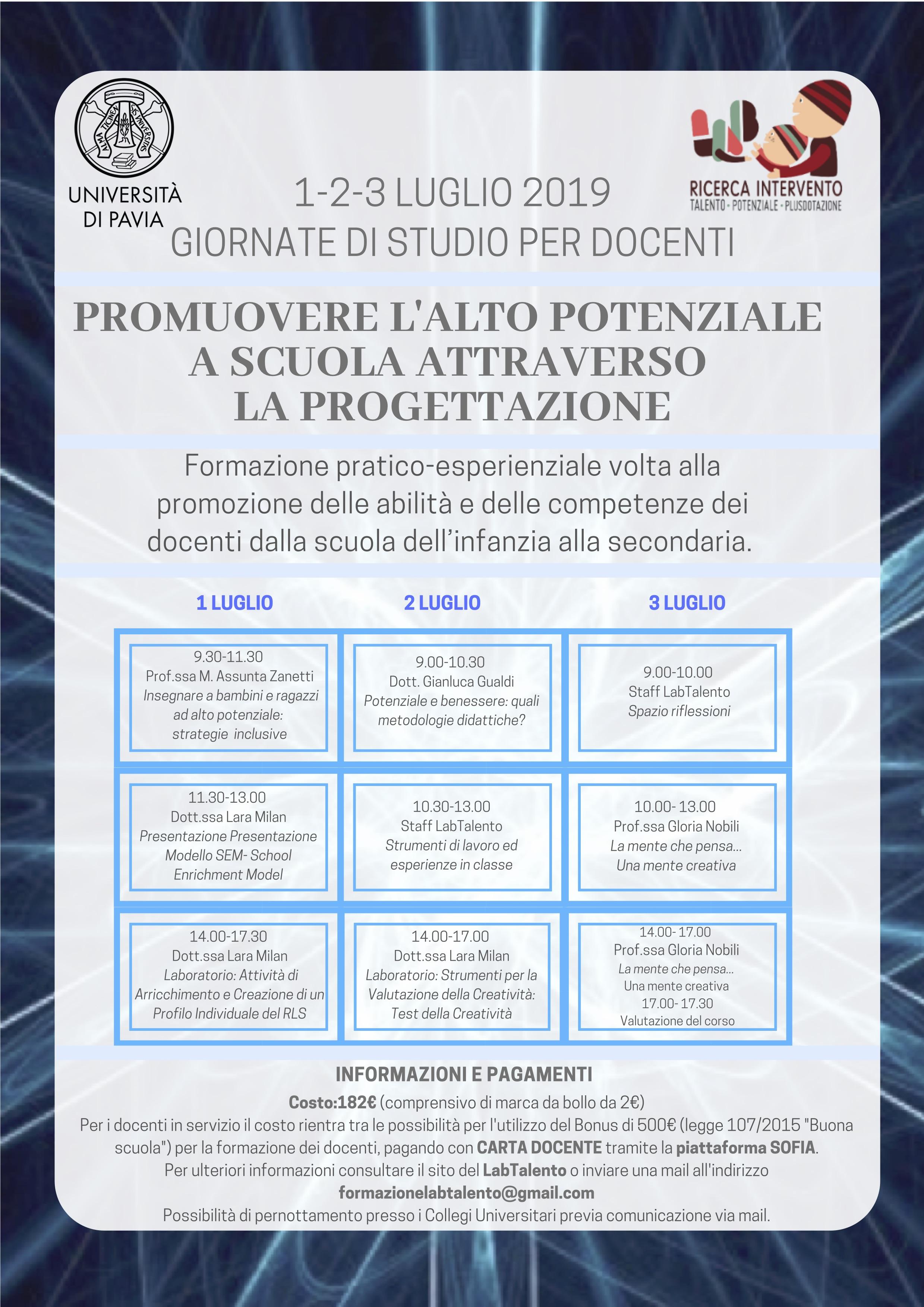Copia di 1-2-3 luglio 2019 giornate di studio per docenti_programma