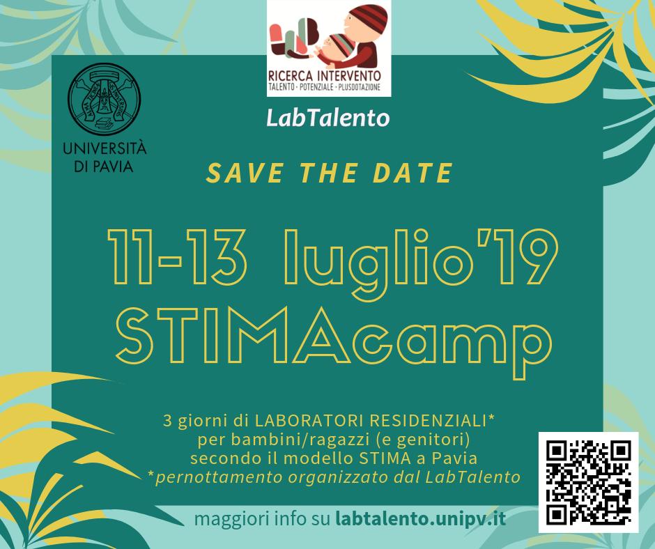 STIMA camp 2019 - save the date
