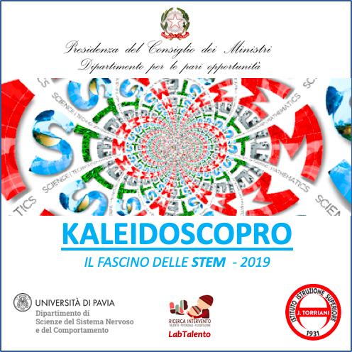 Kaleidoscopro riquadro 2019