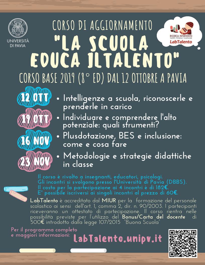 Locandina Corso base 2019
