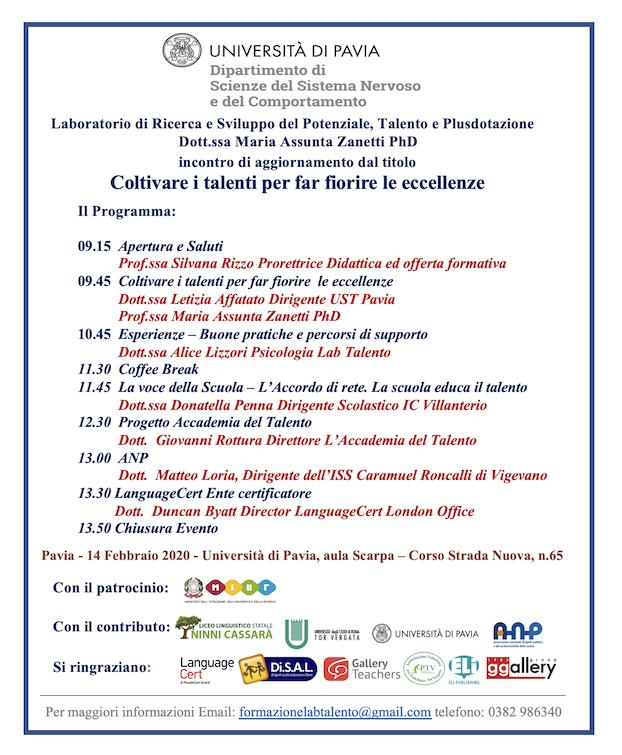 LabTalento@Pavia