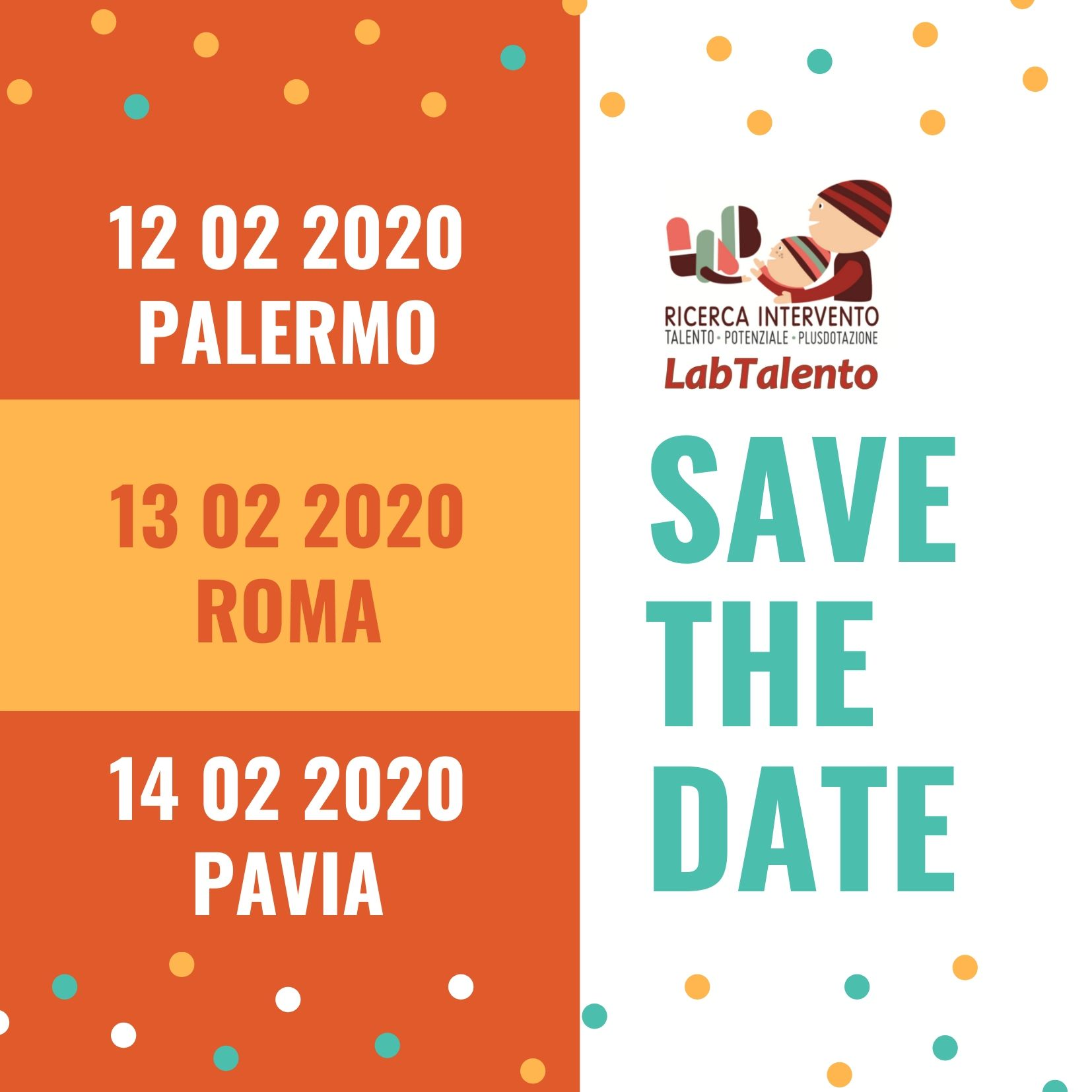 Save the date febbraio 2020