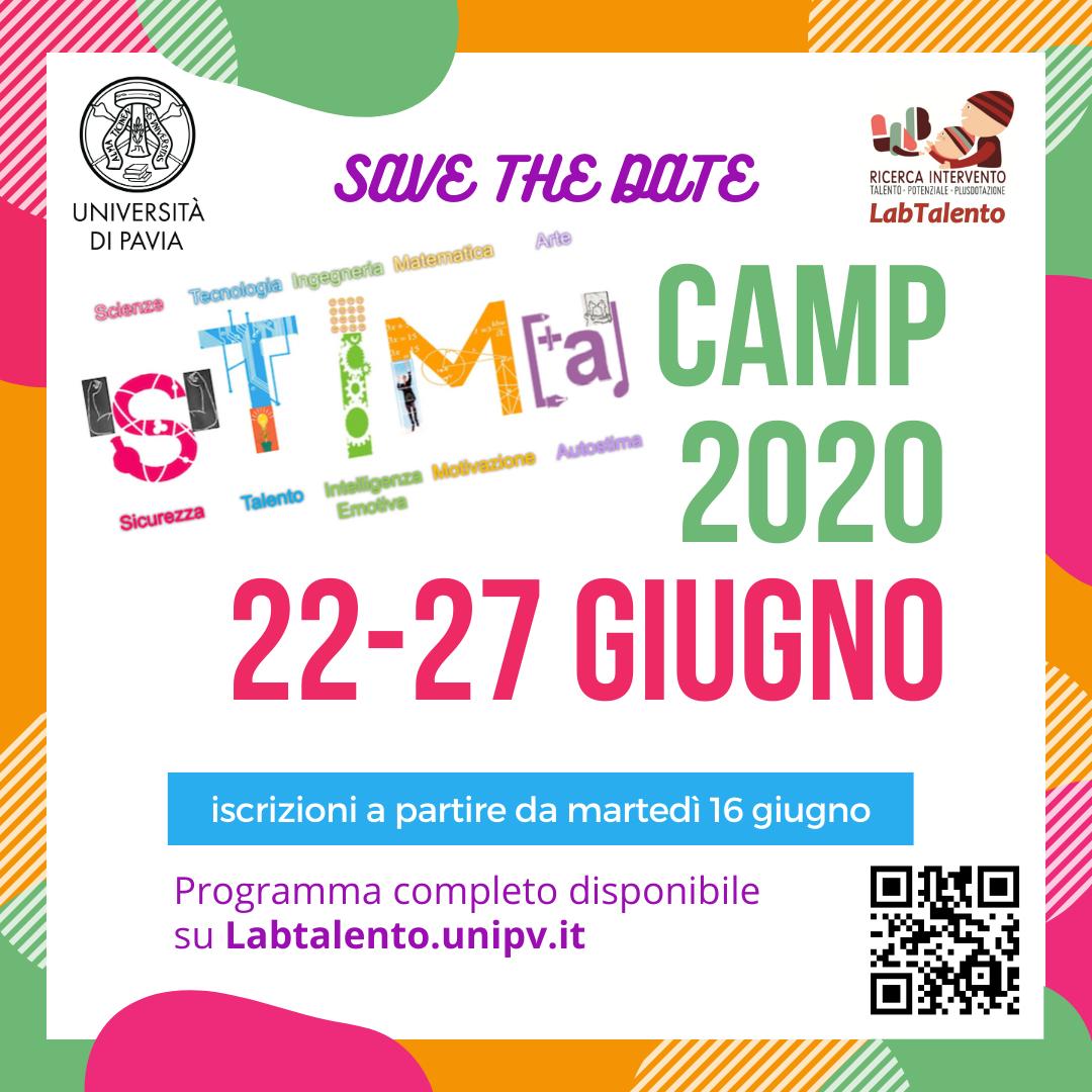 Banner STIMA camp 2020