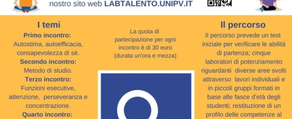 Locandina laboratori metacognitivi V edizione