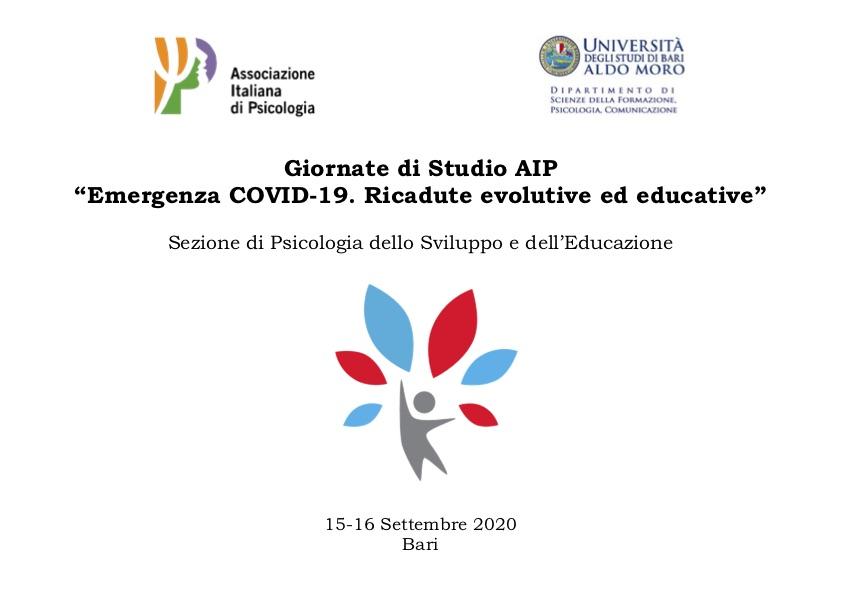 Programma giornate AIP-Bari 2020