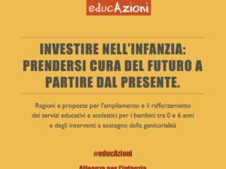 Copertina Rapporto Alleanza EducAzioni