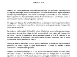 Comunicato Alleanza_16marzo2021