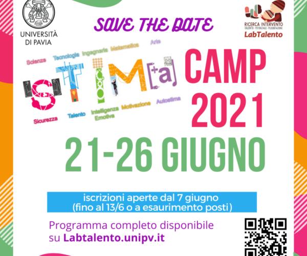 STIMA camp 2021 - locandina